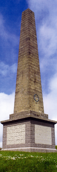 Knockagh war memorial obelisk, Carrickfergus © Carrickfergus Borough Council