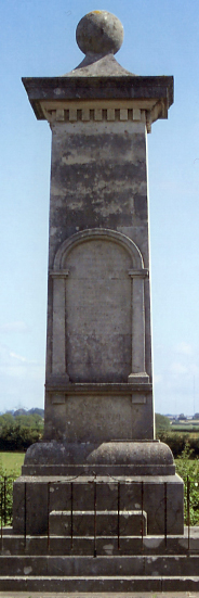 St Athan war memorial pillar, The Vale of Glamorgan © St Athan Community Council