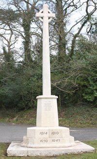 Beoley war memorial after cleaning © Beoley Parish Council, 2011