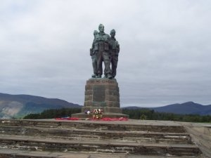 Commando war memorial © C Moreton, 2008