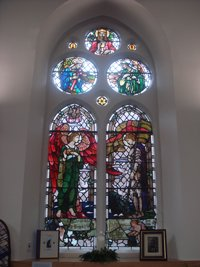 West Kilbride memorial window after works © E McFarland, 2014