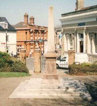 Halesworth war memorial © Halesworth Town Council 2003