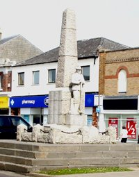 March obelisk © Fenland District Council, 2009