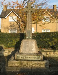 Stocksfield war memorial © Broomley & Stocksfield Parish Council, 2008