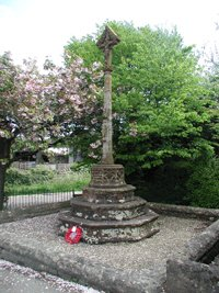 Barrow Gurney war memorial © R Jackson 2009