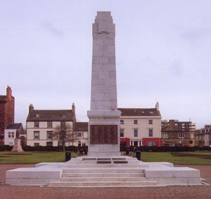 Ayr war memorial after works © South Ayrshire Council, 2008