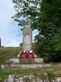 Memorial prior to conservation work © Pyons Group Parish Council, 2010