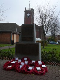Memorial following replacement of stolen plaques © Wolverhampton City Council, 2012