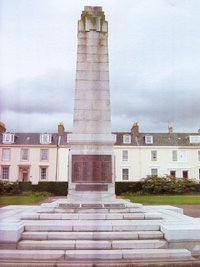 Ayr war memorial before works © South Ayrshire Council, 2008