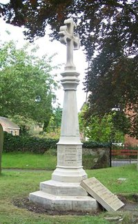 Sheepy Magna war memorial after grant works © Sheepy Parish Council, 2010