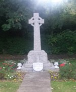 Thurleigh war memorial after cleaning © Thurleigh Parish Council, 2014