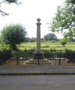 Denford war memorial © Denford Parish Council, 2012